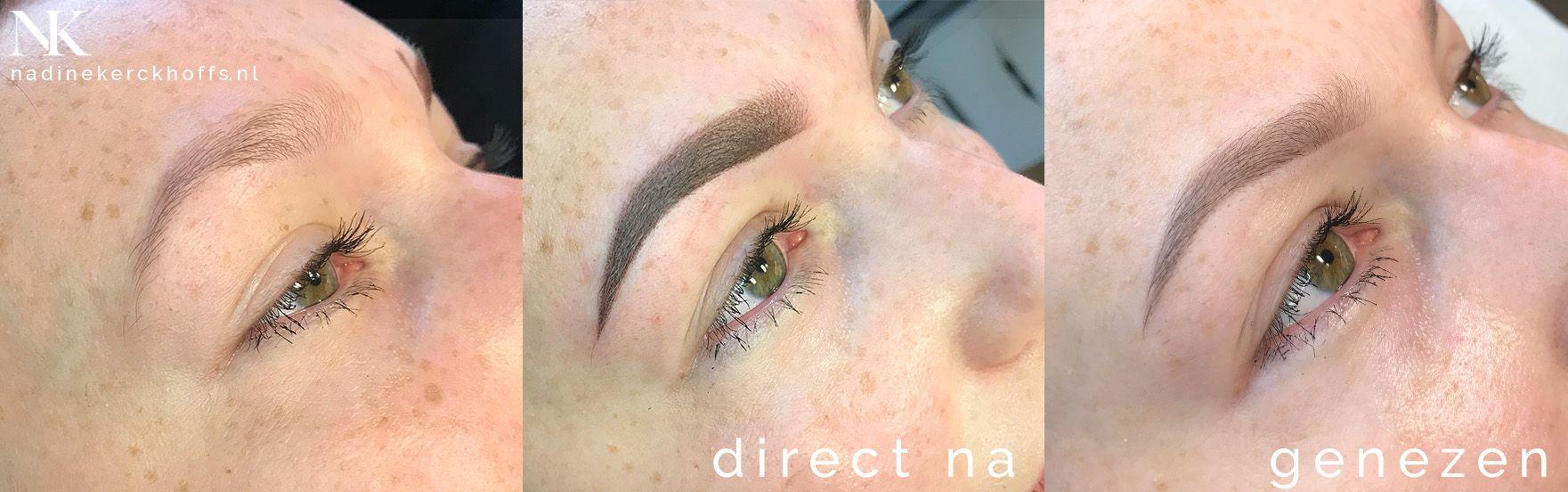 Iris wenkbrauwen permanente make-up Maastricht, Zuid-Limburg, Nadine Kerckhoffs