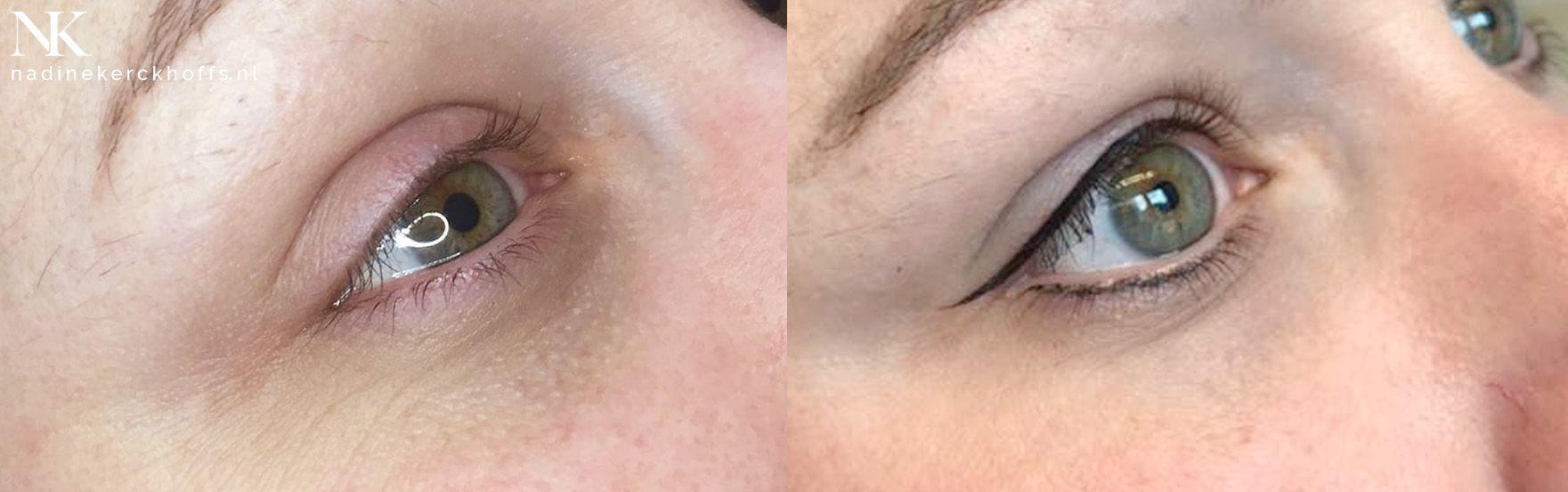 Sandra eyeliner wing permanente make-up Maastricht, Zuid-Limburg, Nadine Kerckhoffs