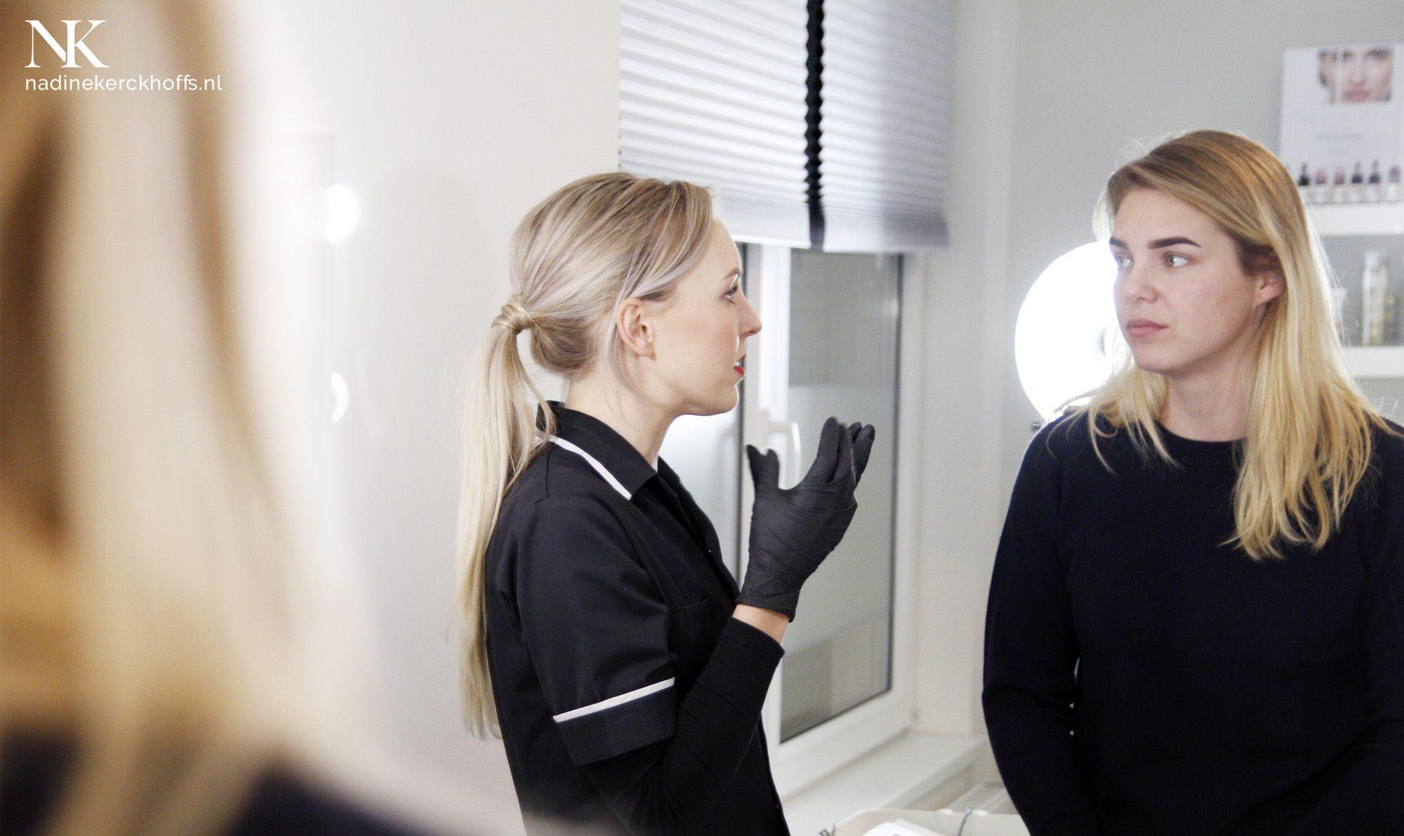 Wenkbrauwen met Nadine Kerckhoffs Permanente Make Up Specialist Maastricht Limburg